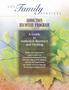 Mormon Church's main addiction recovery text. The Church is working on a much-improved edition for wive's of addicts.