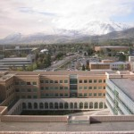 Brigham Young University--view to the north