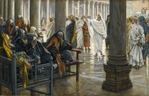 "Christ said, ""Woe unto you, scribes and pharisees!"""
