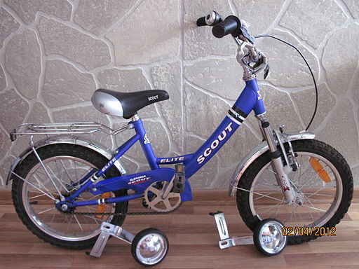Five years old: I'd barely had time to shed the training wheels.