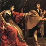 "Without the obsession with lust that comes with addiction, Joseph ""got him out."" Painting by Guido Reni."
